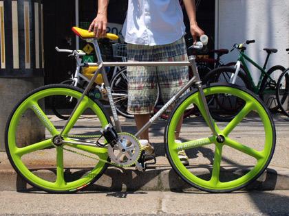 自転車の 実用自転車 販売 : ブリジストンにエアロスポーク ...