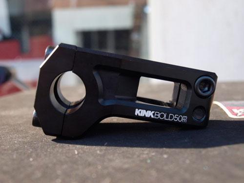 自転車の 自転車 ステム 軽量化 : kink bike ニューステムBOLD STEM 50mm ...