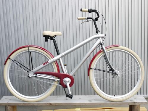 自転車の 自転車 アルミフレーム ママチャリ : 最先端ママチャリ!? 自転車 ...