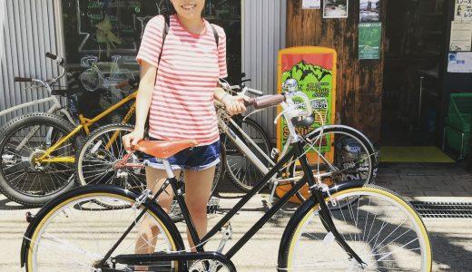 富山街乗りにおすすめ自転車! リンドウバイクス パラレル 完成車。シングルスピードシティコミューター カスタムもしますよ