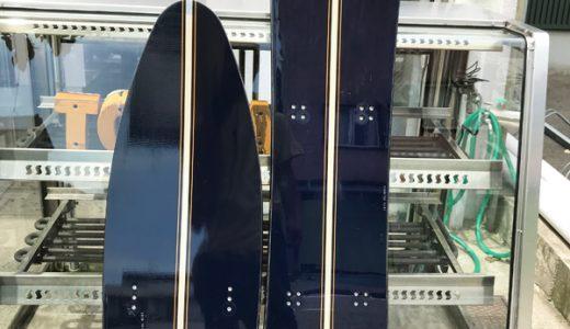 夏ですが。。!スノースクート パウダーむけ中古ボードのご案内 JYKK P1中古ボード ベースワクシング&フルチューン対応
