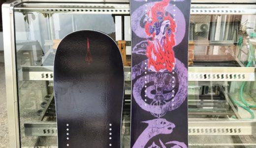 冬に向けて、、スノースクートボード トリニティDC 限定hellエディション 少量入荷。。!