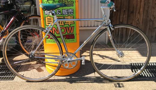 富山でカスタムハンドメイド自転車 ビバロ VIVALO シングルスピード with ジンジャーラーメンブックス