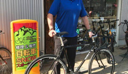 富山SURLY クロスチェックカスタム納車 シクロクロスバイク