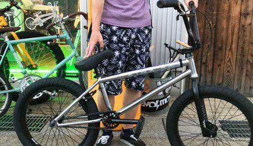 富山 KINK BMX ストリート完成車GAP でBMXデビュー