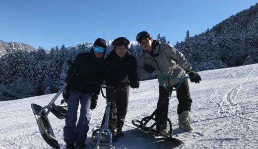 立山スノースクートアカデミー スノースクートスクール&レンタル体験レッスン 今年も好評開校中!