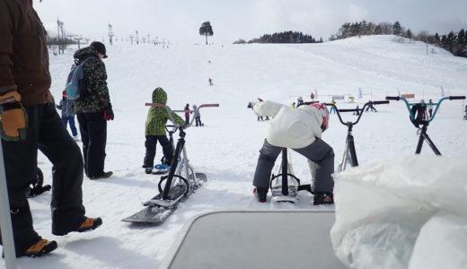 明日2/2は牛岳温泉スキー場での無料体験試乗会開催!