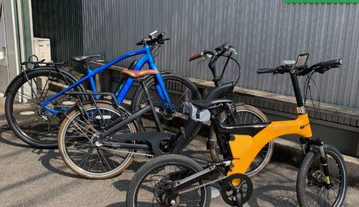 北陸 富山でこの春から注目の最新電動アシスト自転車イーバイク E-BIKE 販売 レンタル 試乗車ありますよ!