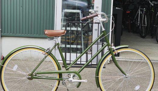 富山 リンドウバイク パラレル おすすめ街乗り通勤自転車、女性にも! スタイリッシュなルックスのシティバイク