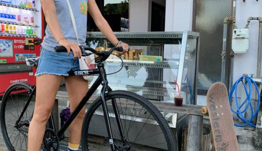 富山 ピストバイク トリックも出来て街も流せる サブロサ完成車!