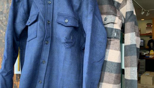 国産グリーンクロージング インナー ネルシャツなど最新レイヤー入荷していますよ!