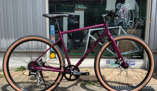 オススメクロスバイク マリン MARIN BIKE NICASIO SE ニカシオモデル 太いタイヤで街乗りからツーリングまで!