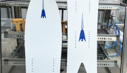 スノースクート 最新パウダーボード! トリニティ ホワイトアロー ご注文受付開始しました。