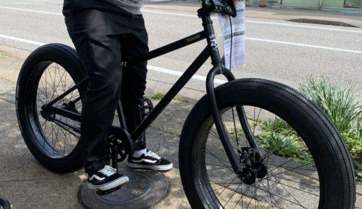 人気の街乗りファットバイク自転車 BRONX CYCLES ブロンクス